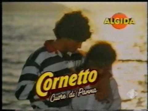 Cornetto Algida - Cuore di Panna 1990