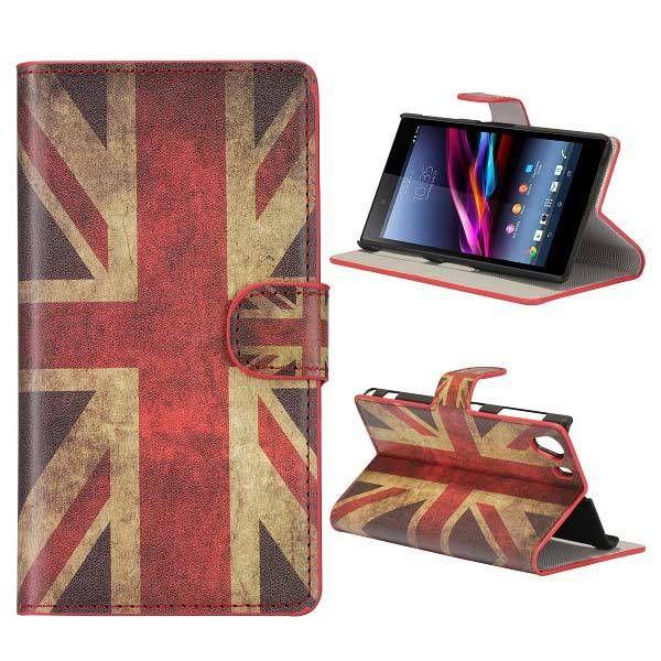 Britse vlag booktype hoesje voor Sony Xperia Z1