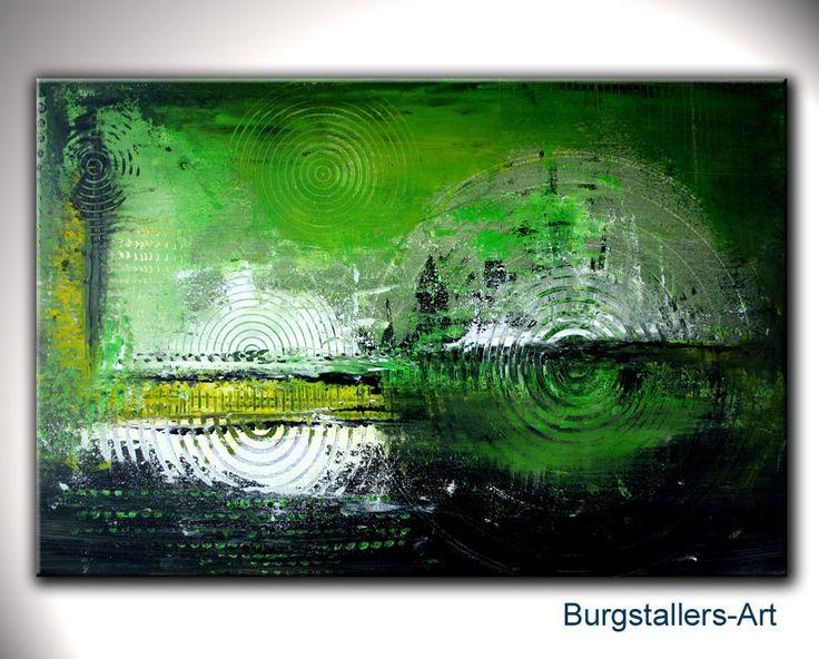 burgstaller bild malerei acrylbild g nstig abstrakte kunst. Black Bedroom Furniture Sets. Home Design Ideas