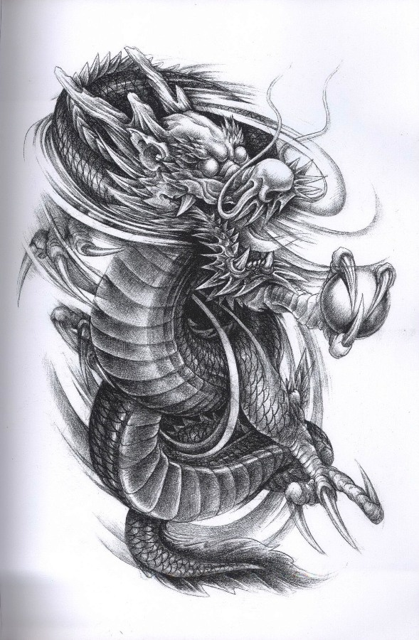 204 best dragon images on pinterest dragon tattoos japanese dragon and japanese tattoos. Black Bedroom Furniture Sets. Home Design Ideas