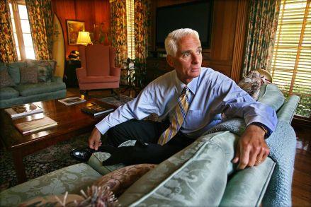 Who is Charlie Crist? The answer is complicated