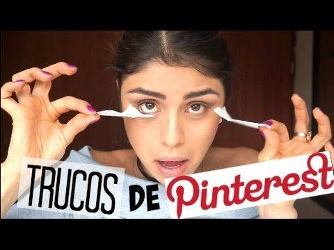 Probando Trucos de belleza PINTEREST!- Pautips - YouTube