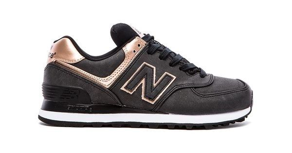 New Balance 574 Precious Metals Collection Sneaker in Charcoal #sneakers #charcoal #new balance