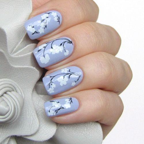 Flower Nail Designs 2013: Simple Flower Nails 2013 ~ fixstik.com Nail Designs Inspiration