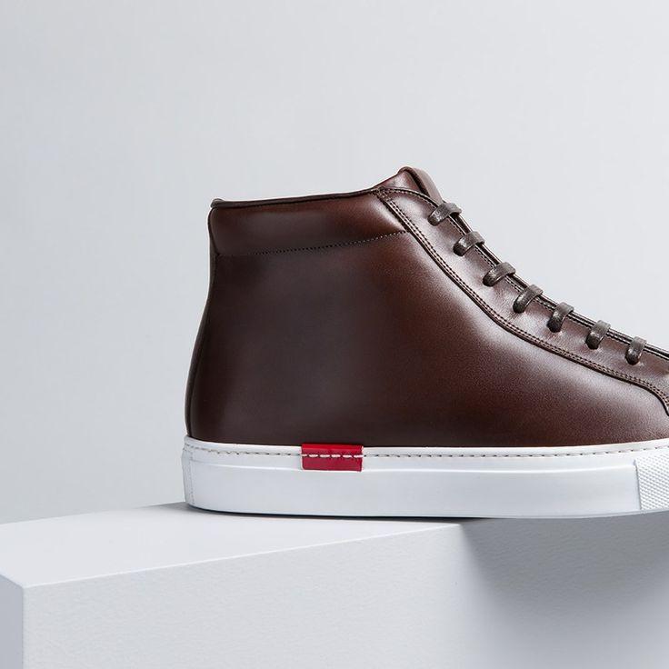 Buy Nicolò Moro men's sneakers in dark brown calf leather. Find more at Scarosso.