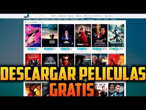 Paginas para descargar películas en Español latino gratis | Como descargar sin virus - YouTube