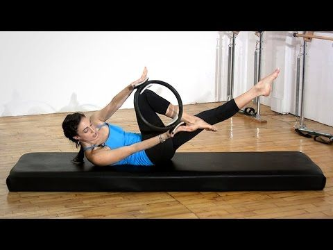 Say Hello To Your Abs Pilates Magic Circle Workout! - YouTube(like)