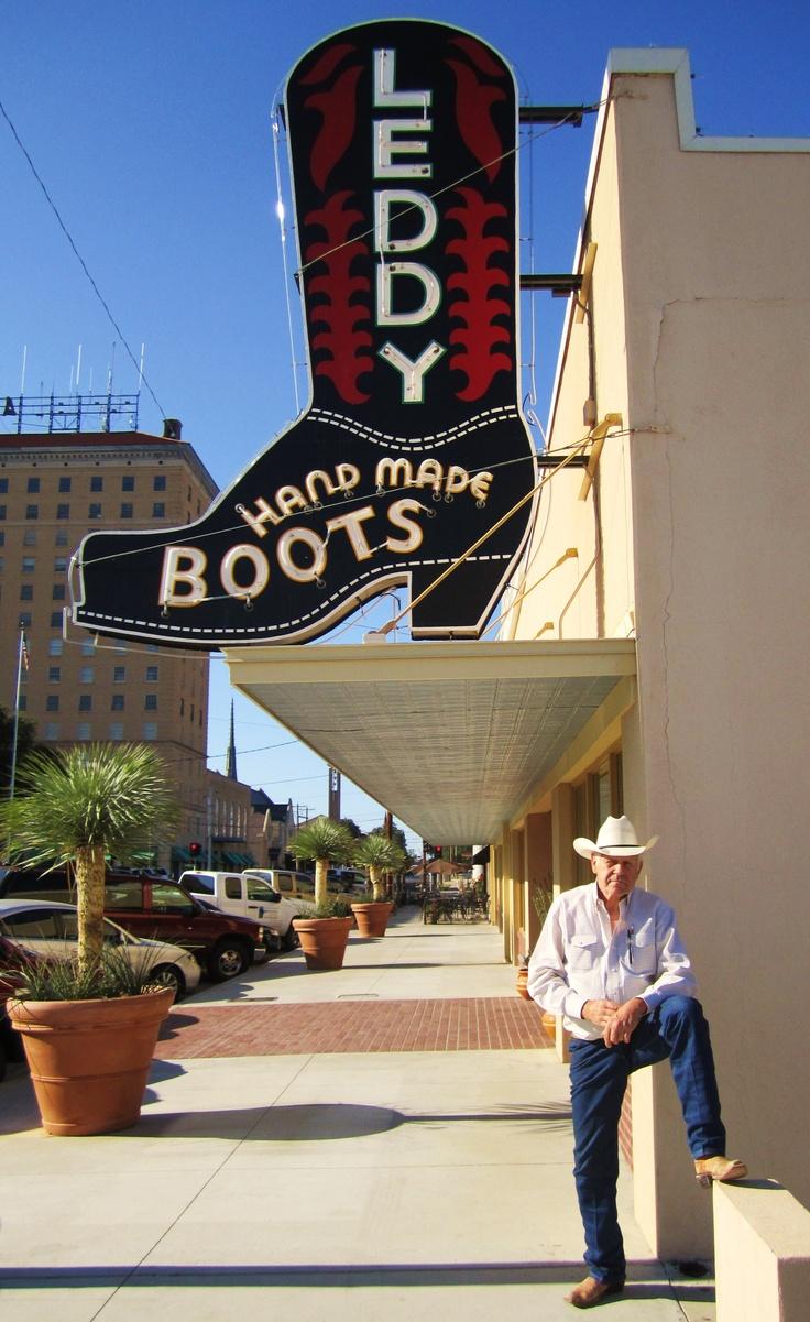 Leddy Boots, San Angelo, Tx.