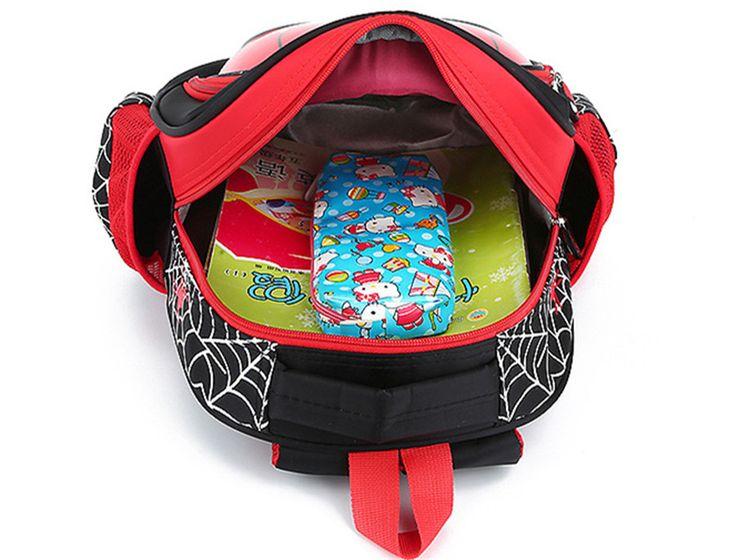 School Bags Waterproof Backpacks Child Spiderman Book bag Shoulder Bag