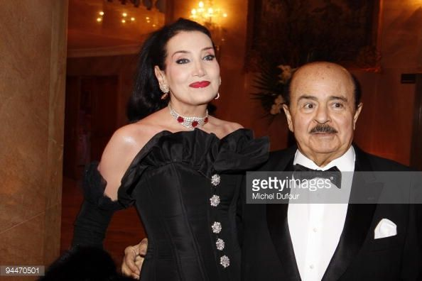 Foto di attualità : Adnan Khashoggi and his wife attend 'The Best '...
