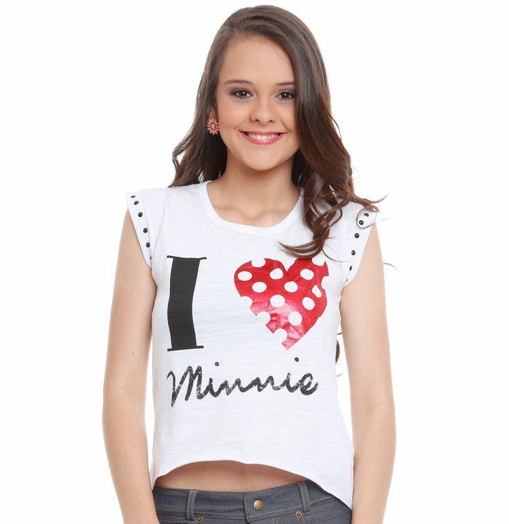Blusa juvenil Turma da Disney | Blusas | De Mulher Para Mulher, Marisa