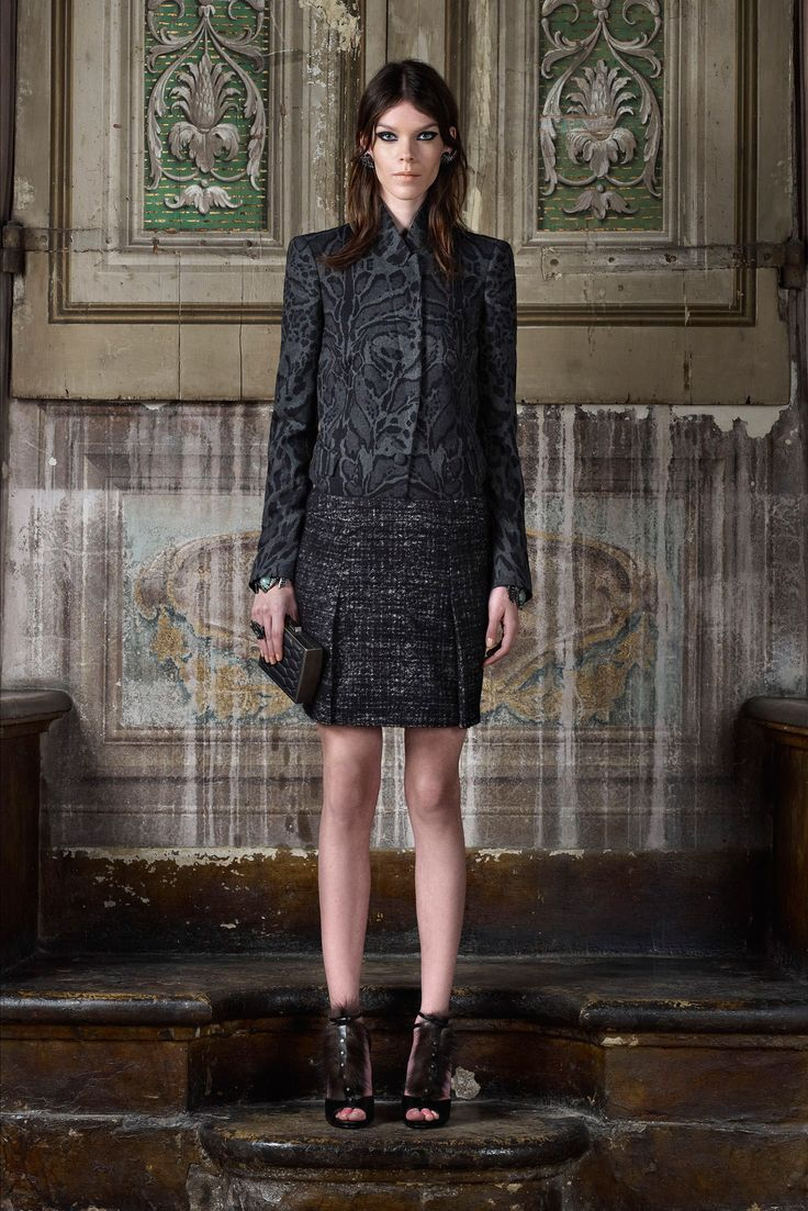 outerwear jackets for women Roberto Cavalli Pre Fall    Collection  Gallery  Style com