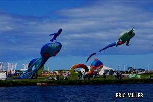 Cape Town International Kite Festival- photo by Eric Miller