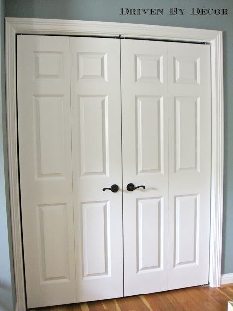 17 Best Ideas About Bedroom Closet Doors On Pinterest