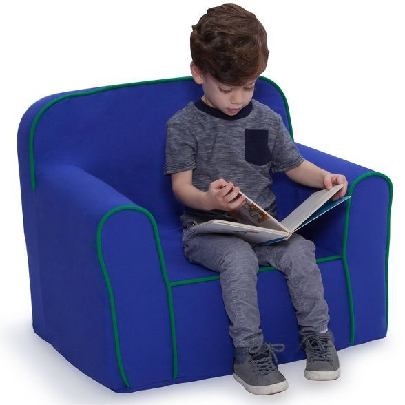 Foam Snuggle Chair Pink White Delta Children In 2020 Snuggle Chairs Delta Children Kids Chairs