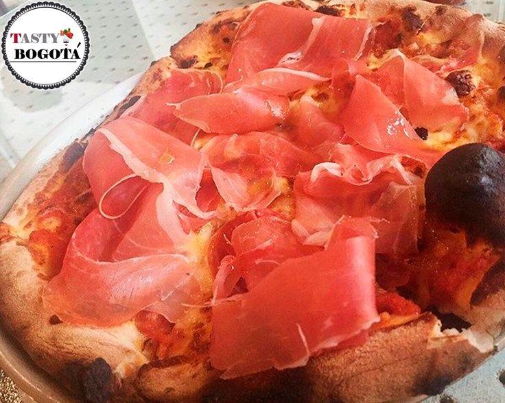 Pizza de prosciutto 7 cabras
