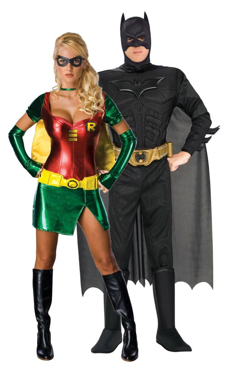 Batman en Robin™ koppel kostuums: Robin™ carnavalskleding voor vrouwenHet prachtige superheldin kostuum voor vrouwen bestaat uit een groen met rode mini jurk met cape, riem, twee manchetten en een maskertje. Dit kostuum is...