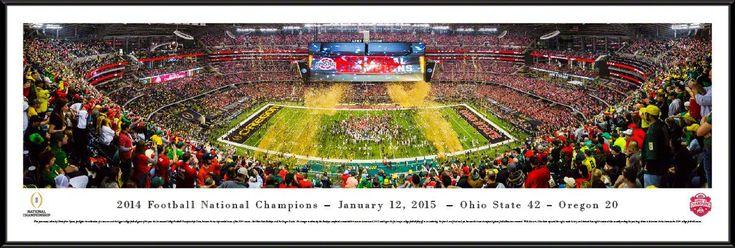 Ohio State Buckeyes - 2015 CFP Championship - Panoramic Picture
