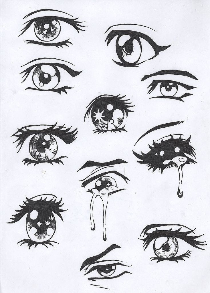 alihocrez: how to draw anime boy eyes