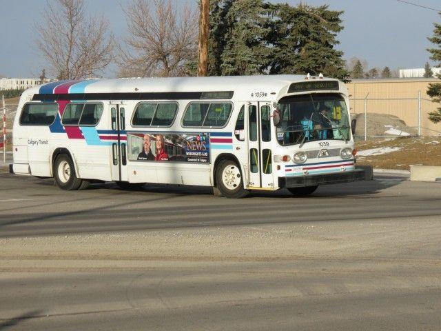 GMC Fishbowl Calgary Transit