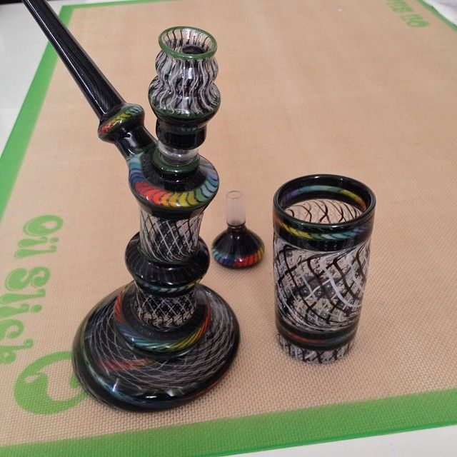 Check out this awesome Marcel Glass Rig....we can't stop drooling over it!
