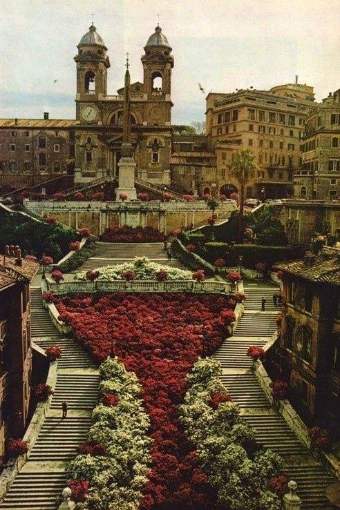 The Spanish Steps, Rome, Italy. Lovely.