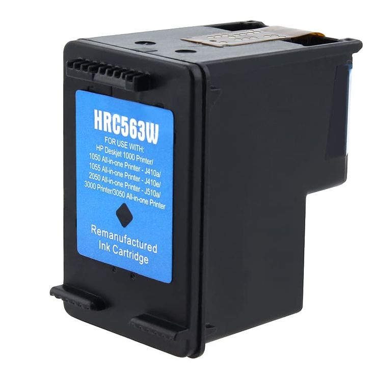 Refurbished Insten Remanufactured Ink Cartridge Replacement for HP CH563WN/ 61XL #472020