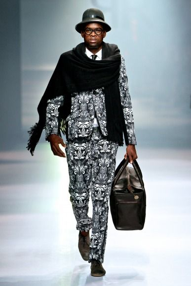 Ruald Rheeder's collection at Mercedes-Benz Fashion Week Joburg 2014. Image by SDR Photo #MBFWJ
