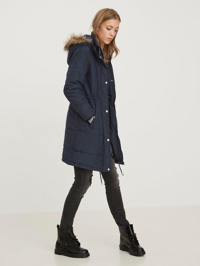 Winter jacket in beautiful blue