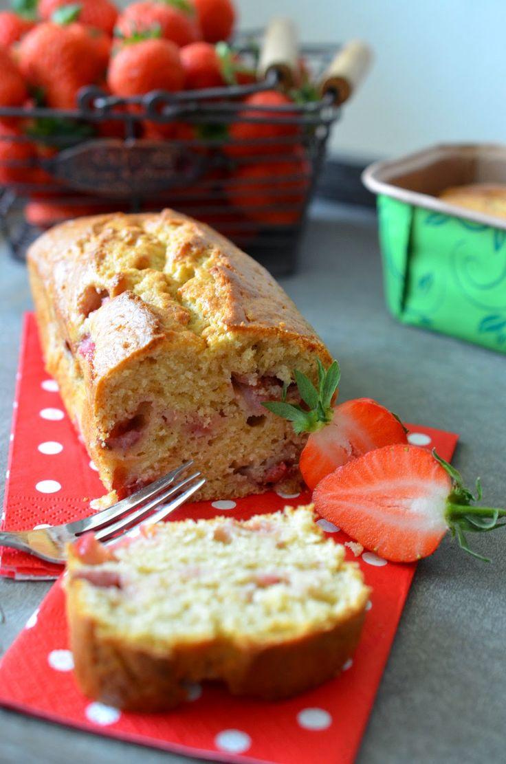 Ninas kleiner Food-Blog: Erdbeer-Frischkäse-Kuchen