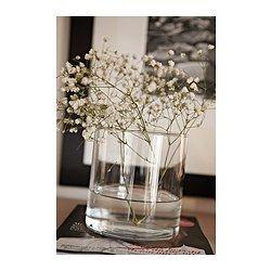 CYLINDER Vas/skål, set om 3, klarglas - - - IKEA