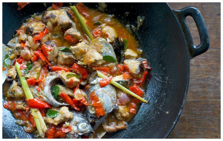 Indonesian Medan Food: Tongkol Bumbu Dendeng Balado (Chili Tuna ) #IndonesiaFood #Indonesia