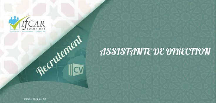 #Ifcar #Solutions #embauche une #Assistante de #Direction à #Rabat