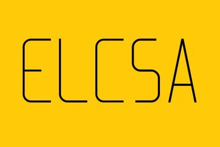 Free Font: Elcsa