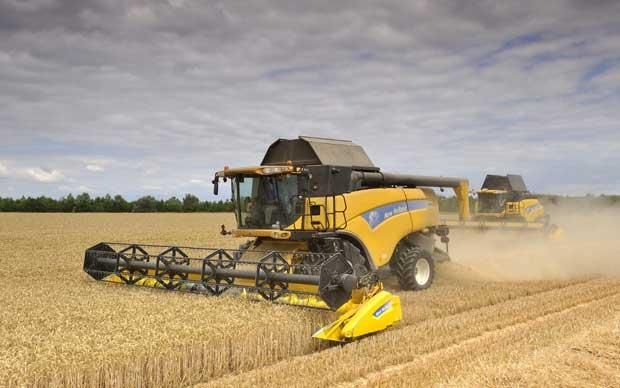 combine harvesters | Combine harvester images - Telegraph