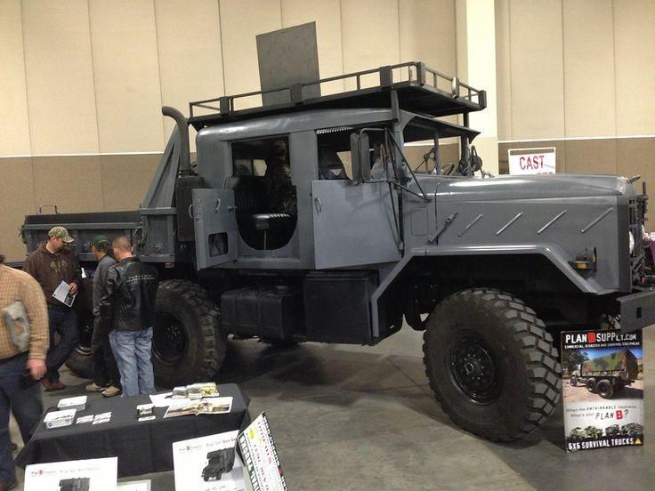 Custom built Prepper trucks, Offroad motorhomes rv, crewcab 4 door military truck, bobbed deuce and half used surplus vehicles for sale emp proof