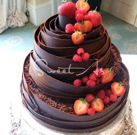 Naked Wedding Cake Warwickshire