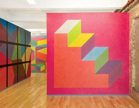 MASS MoCA :: Sol LeWitt :: Wall Drawing 610