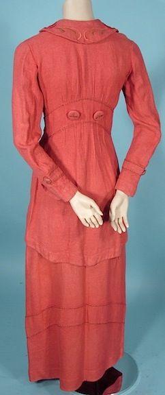 Red dress short 1911