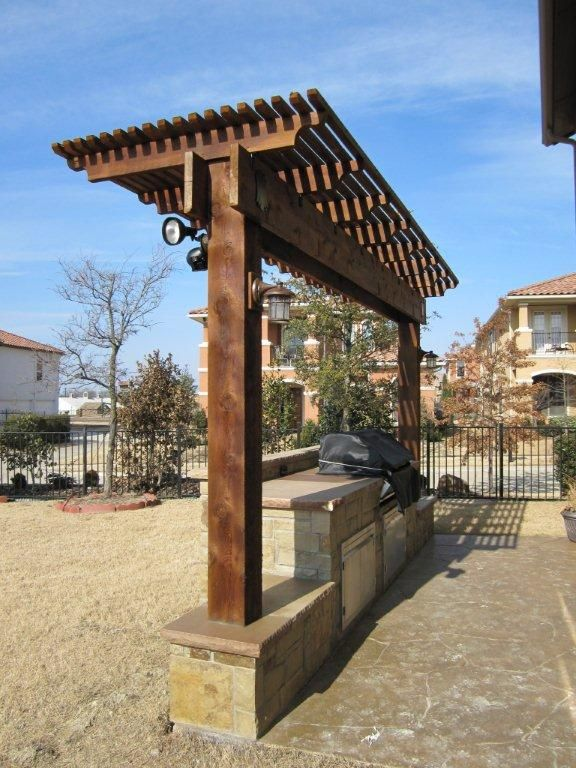 Small One Column Pergolas And Arbors Arbors Pergolas