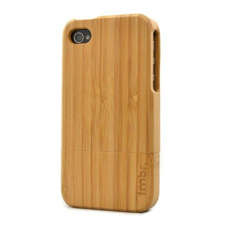 Legno di bambù vendita iPhone 4s 4 Case - cover case artigianali in legno iPhone 4 4S