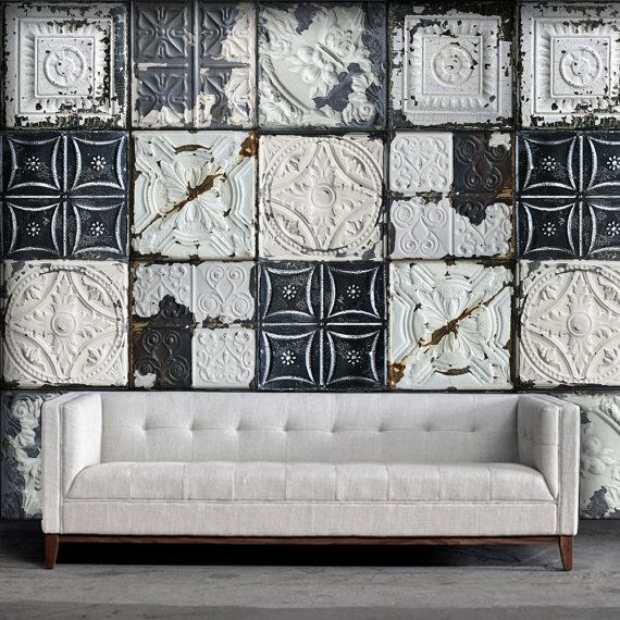 Best 25+ Tin tiles ideas on Pinterest | Cheap wall tiles ...