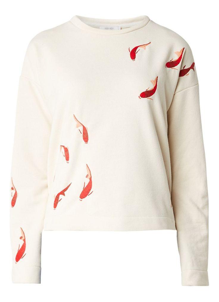 Op zoek naar Sissy-Boy Lorah sweater met borduring ? Ma t/m za voor 22.00 uur besteld, morgen in huis door PostNL.Gratis retourneren.