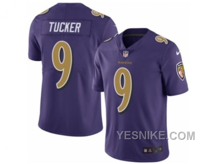 Nike Ravens 18 Breshad Perriman Purple Mens Stitched NFL Limited Rush Jersey  httpwww.yesnike.combig-discount-66- Mens Nike Baltimore Ravens 9 Justin  Tucker ... b27ec08d2