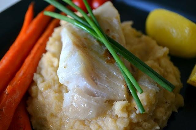 Fish over Rutabaga Puree   Eating - Fish & Seafood   Pinterest