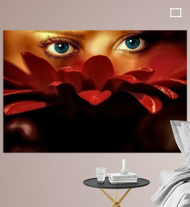 Nieuw in mijn Werk aan de Muur shop: Blue eyes #wonen #fineart #decor #decoratie #homedecor