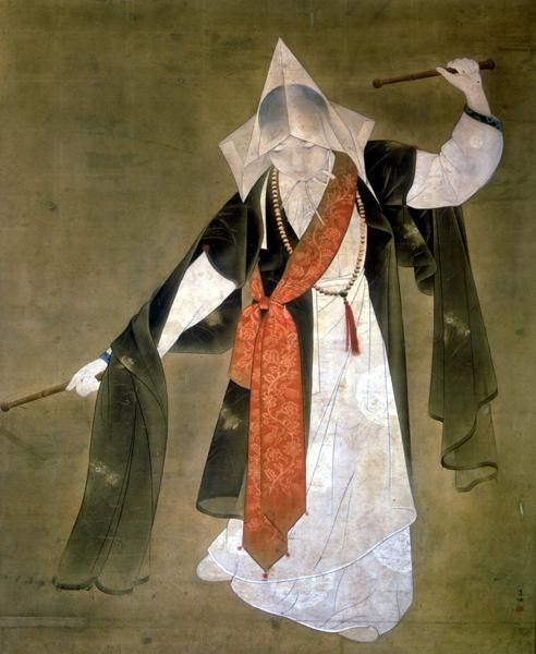 Buddhist Dance by Chang Woo-sung(1912-2005)