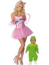 Kermit and Miss Piggy The Muppets Mommy and Me Costumes - Party City I'm leaning toward this for halloween too cute!: Miss Piggies Costumes, Muppets Mommy, Halloween Costumes, Costumes Parties, Parties Cities, The Muppets, Adult Tutu, Products, Costumes Ideas
