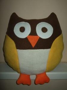 Bagoly párna / Owl pillow