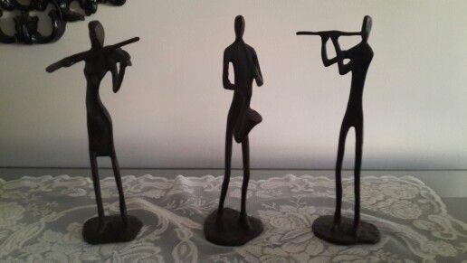 Müzisyen heykelciklerim...